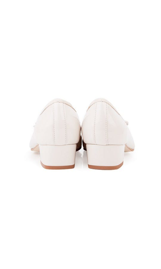 Beyond Skin Bridal Collection Coco Cream Mid Heel Shoes #3