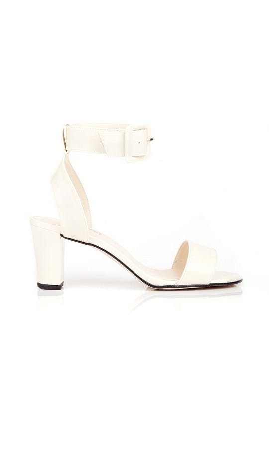 Beyond Skin Bridal Collection Colette Cream Sandals #1