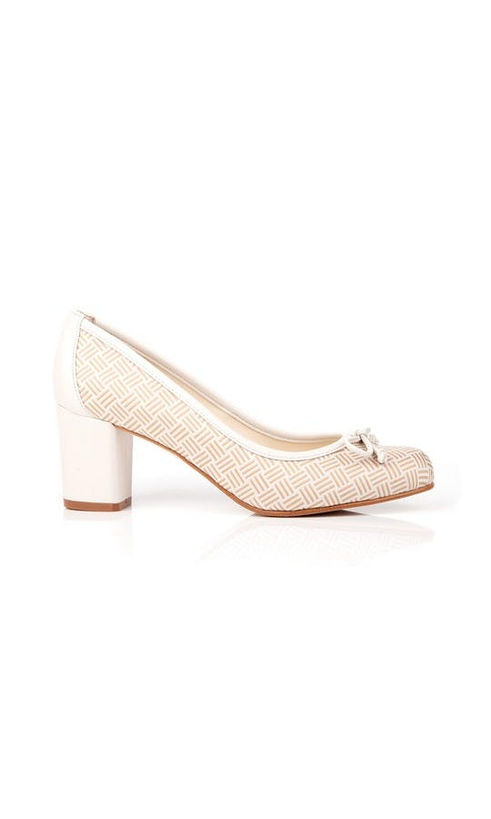 Beyond Skin Bridal Collection Doris Cream Heels #1