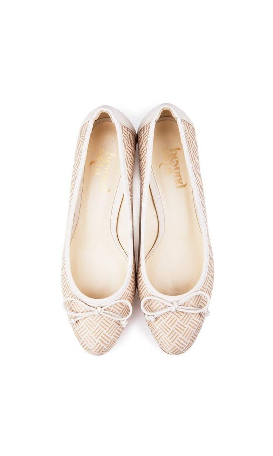 Beyond Skin Bridal Collection Doris Cream Heels #2