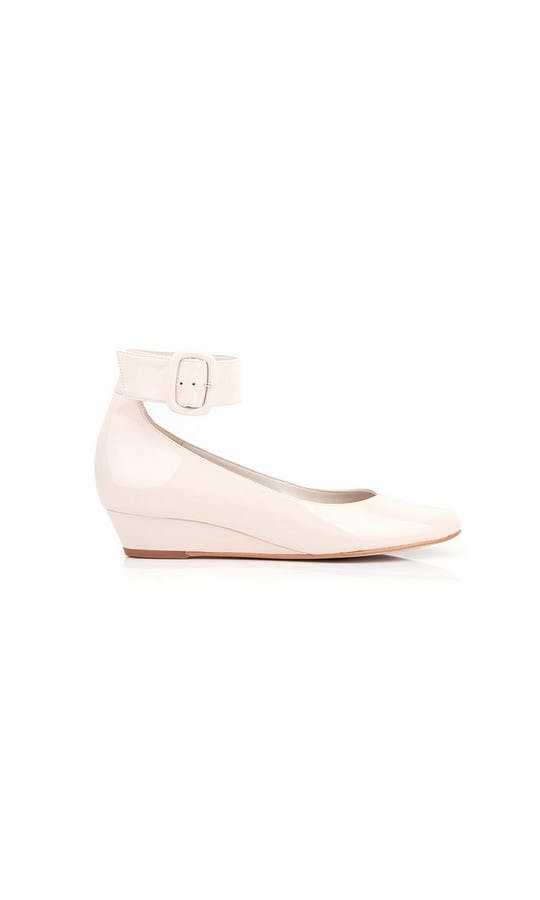 Beyond Skin Bridal Collection Cream Bob Wedges #1