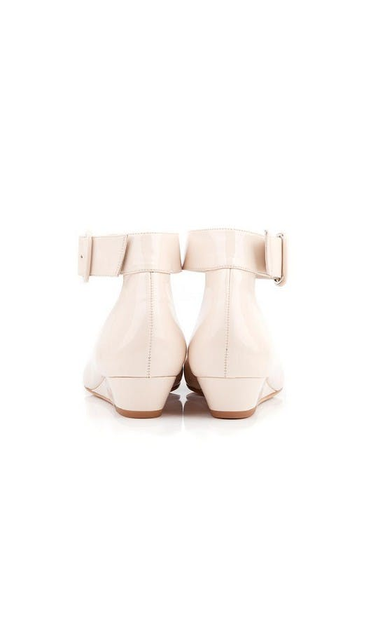 Beyond Skin Bridal Collection Cream Bob Wedges #3