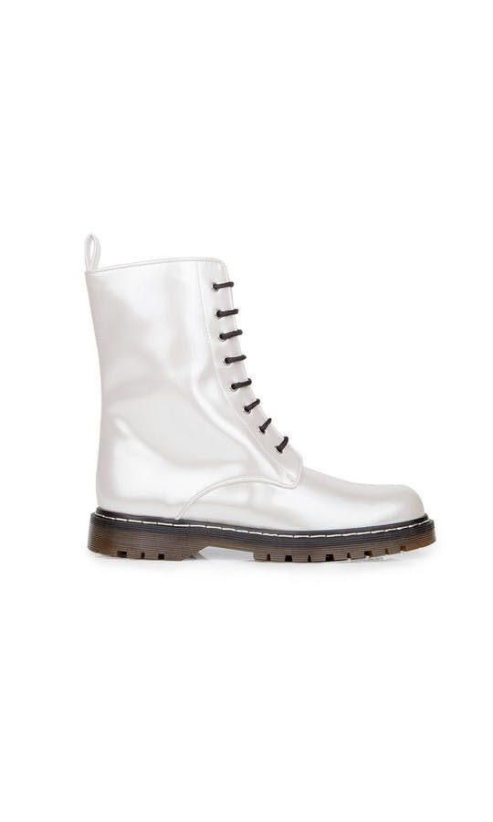 Beyond Skin Bridal Collection Frida Pearl Boots #1