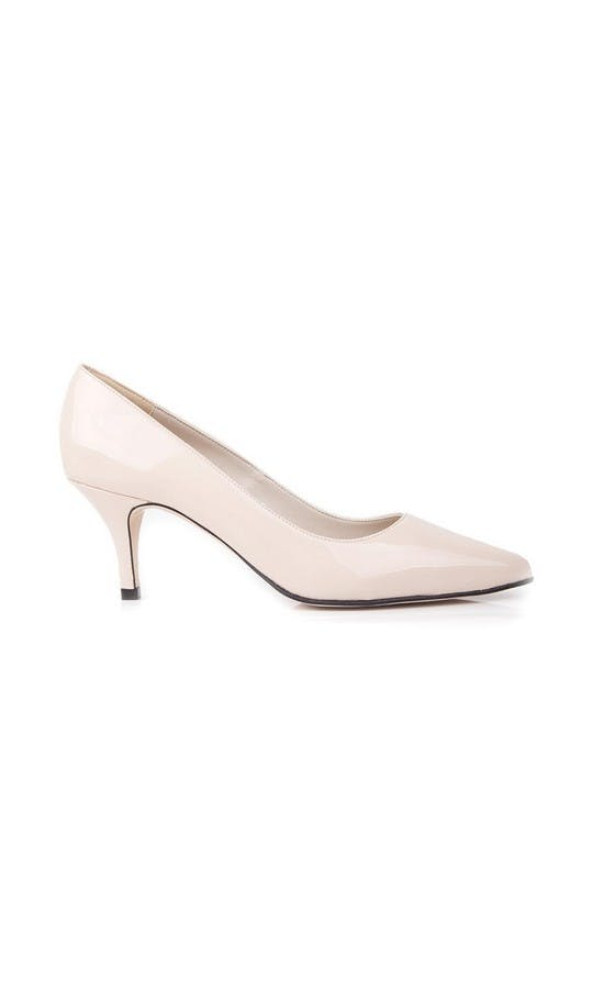 Beyond Skin Bridal Collection Isabella Cream Mid Court Shoes #1