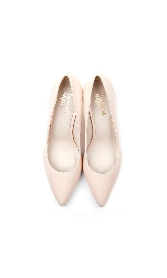 Beyond Skin Bridal Collection Isabella Cream Mid Court Shoes #2