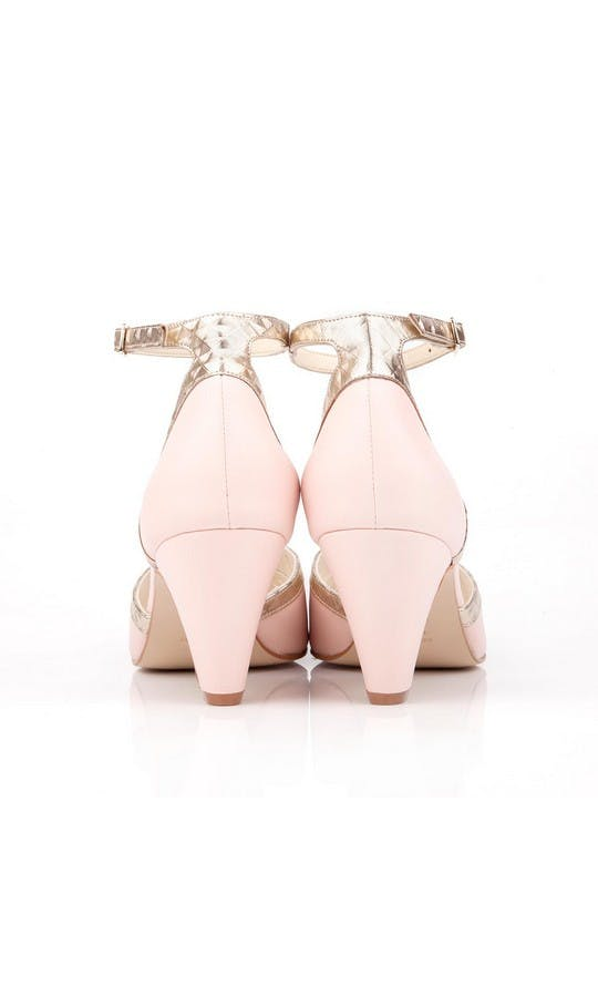 Beyond Skin Bridal Collection Pink Leah Sandals #3