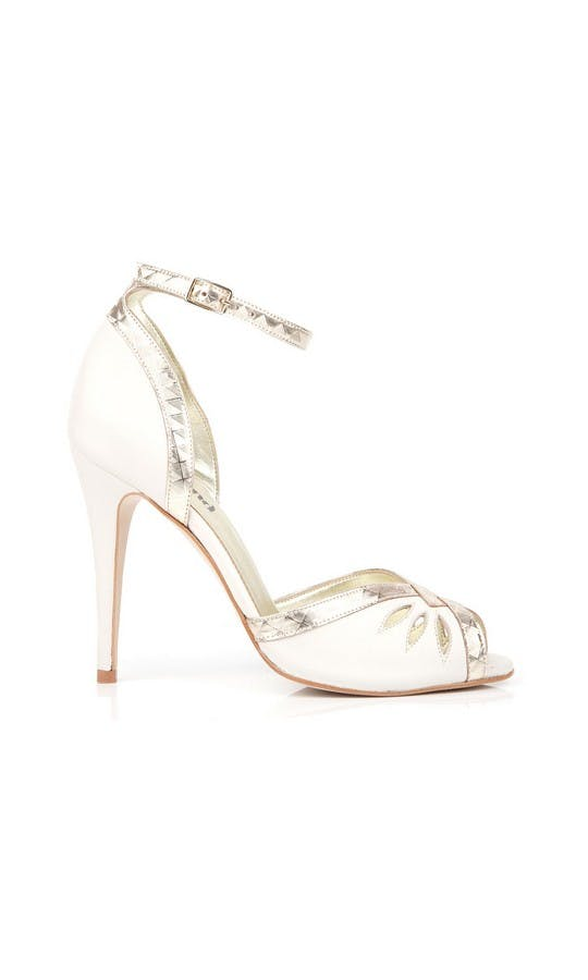 Beyond Skin Bridal Collection Cream Patti B Heels #1