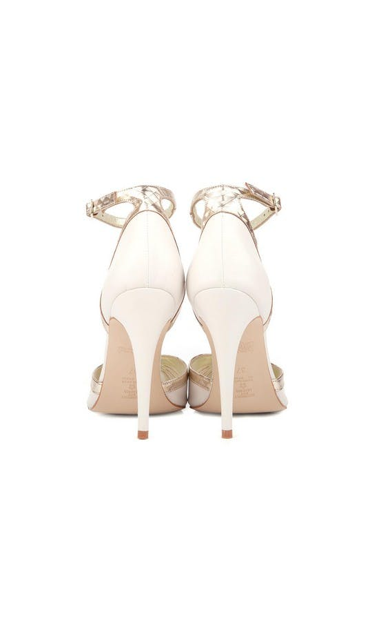 Beyond Skin Bridal Collection Cream Patti B Heels #3