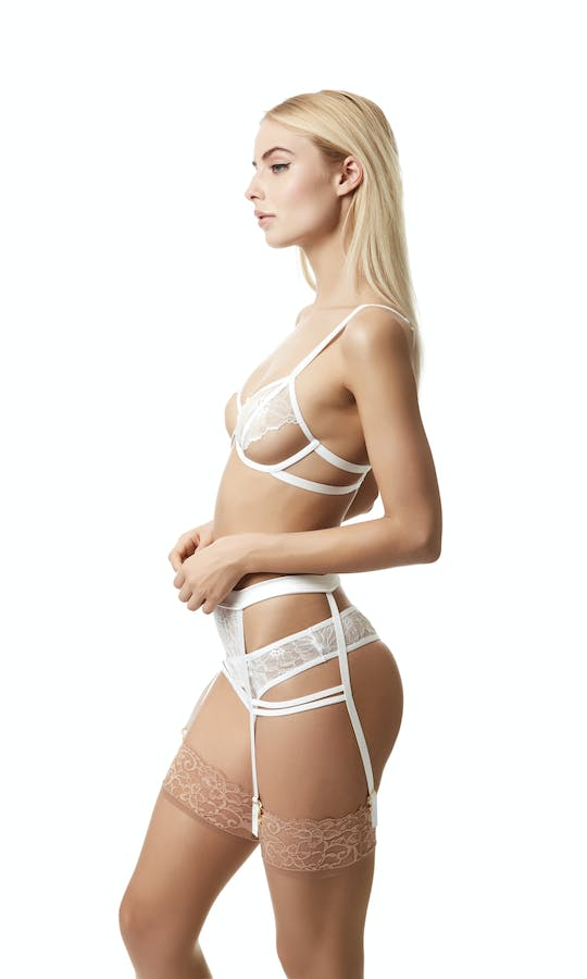 Bluebella 2017 Bridal Collection Emerson Suspender Belt #1