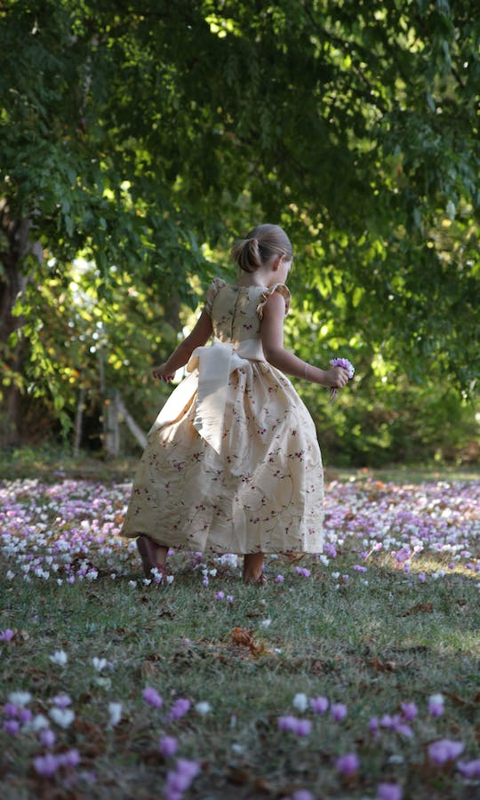 Little Eglantine Flower Girls 2017 Isobel Embroidered #2