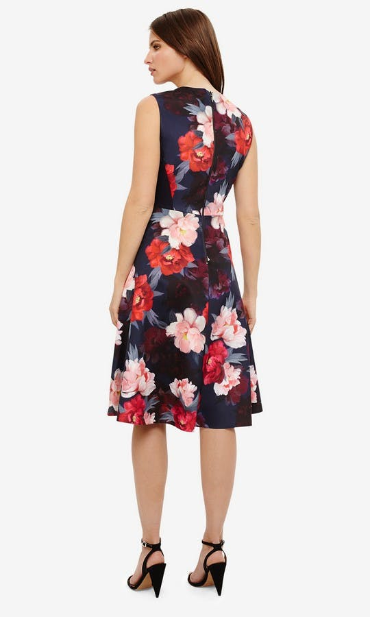 Phase Eight Ss18 Elba Fl Fit And Flare Dress 3