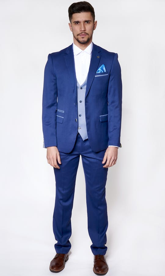 Marc Darcy Wedding Suits Howard - Navy