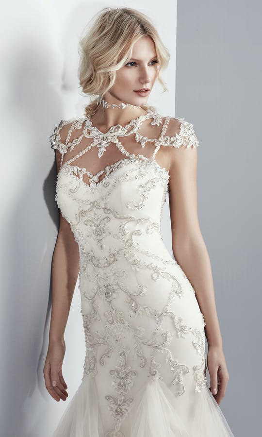 df8bbe34d383 Grayson wedding dress - Maggie Sottero Designs: Sottero & Midgley ...