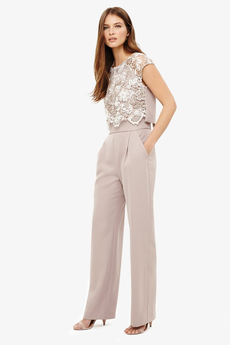 bba50712d1c Phase Eight  Mother of the Bride or Groom. SS18. Style  Cortine  Lace  Jumpsuit