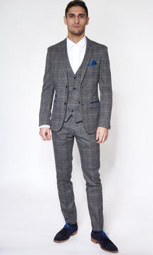 Marc Darcy Wedding Suits Scott - Grey #11