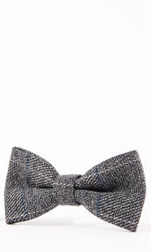Marc Darcy Accessories Grey Scott Bow Tie #4