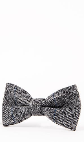 Marc Darcy Accessories Grey Scott Bow Tie
