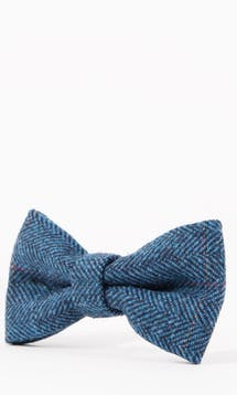Marc Darcy Accessories Blue Dion Bow Tie #6