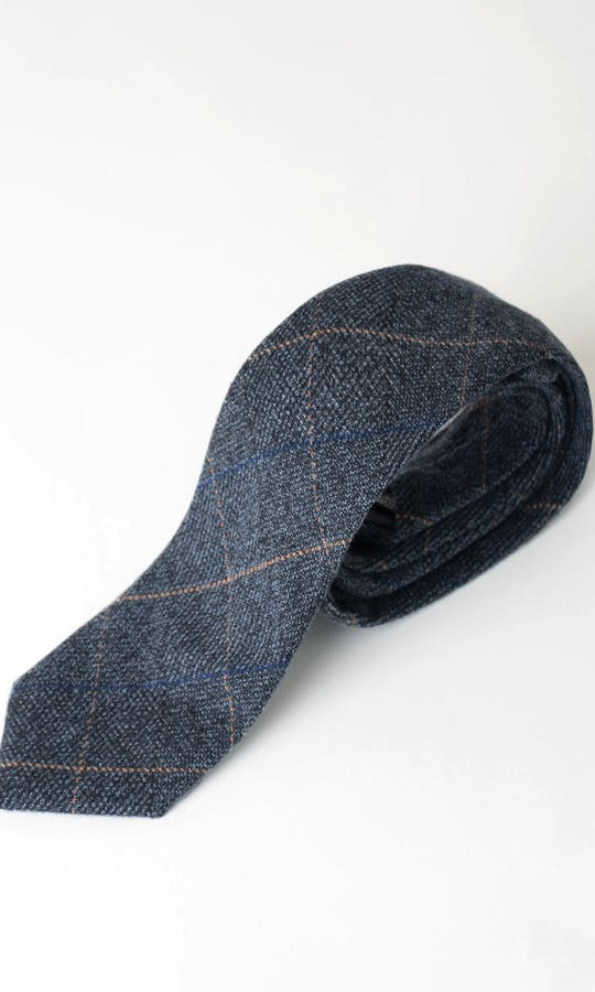 Marc Darcy Accessories Blue Scott Tie