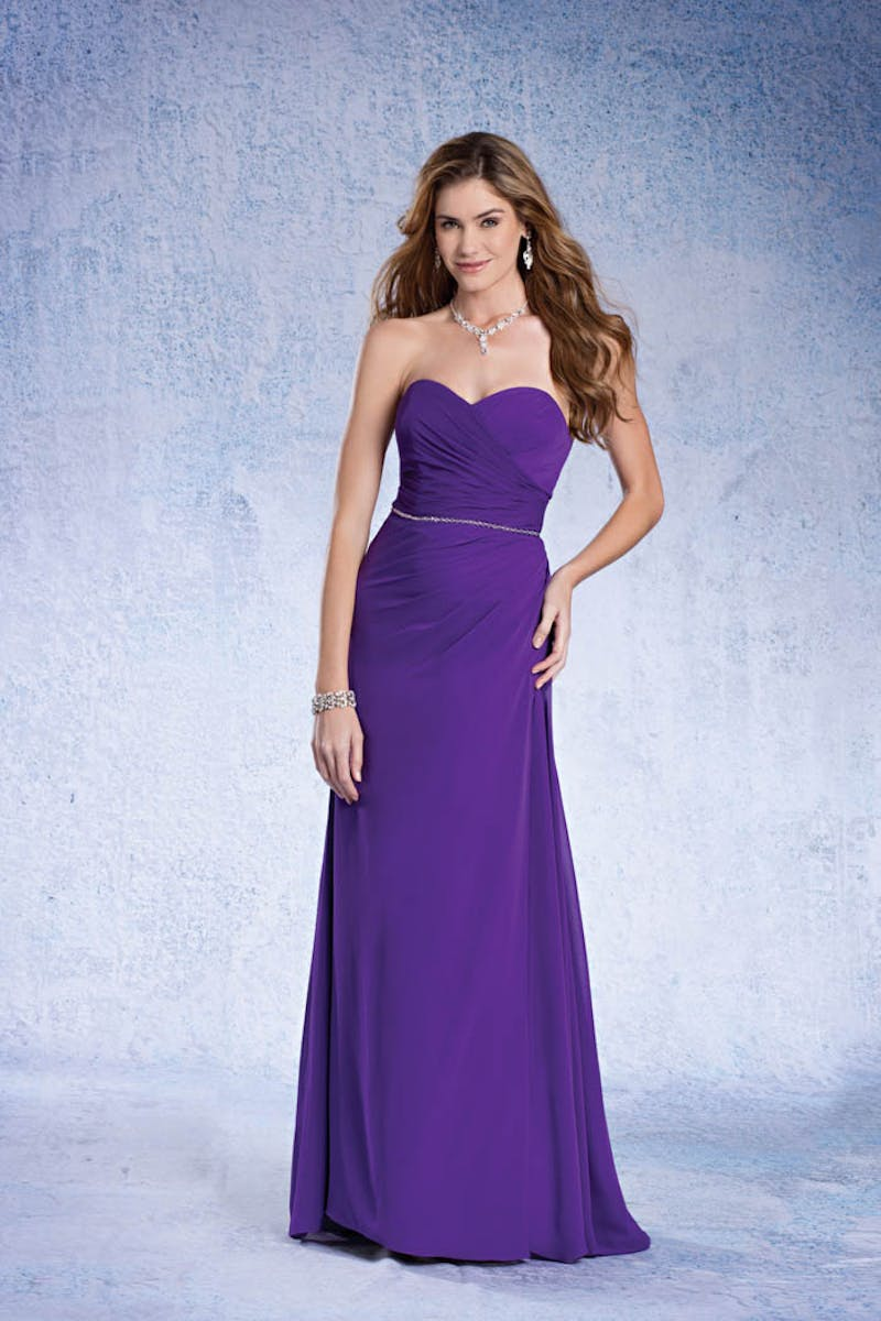 b1ee815e3a3 Alfred Angelo 6471 in 2019   Products   Bridesmaid dresses ... Alfred  Angelo purple floor length ...