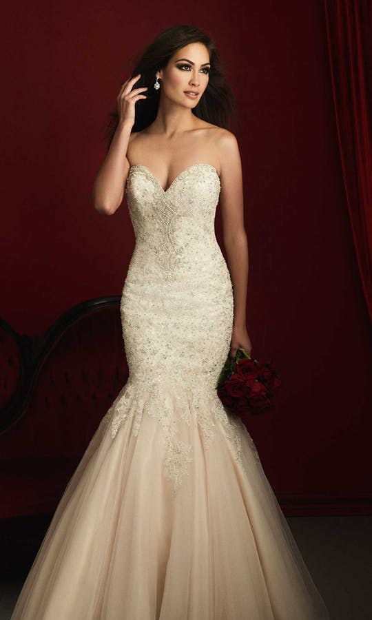 Allure Bridals 2016 Couture C363