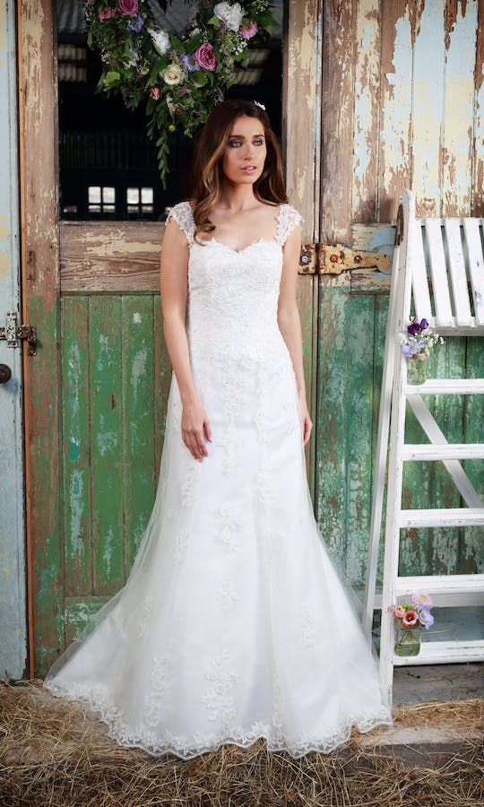 ecaffafa654 Adore wedding dress - Amanda Wyatt  Promises of Love - Confetti.co.uk
