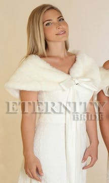 Eternity Bridal Bridal Jackets & Cover Ups D941 #1