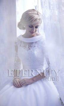 Eternity Bridal Bridal Jackets & Cover Ups J066 #2