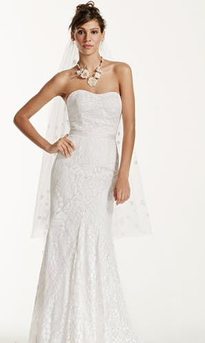 David's Bridal 2016 Galina WG3381