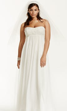 David's Bridal 2016 Galina Woman 9KP3695 #1