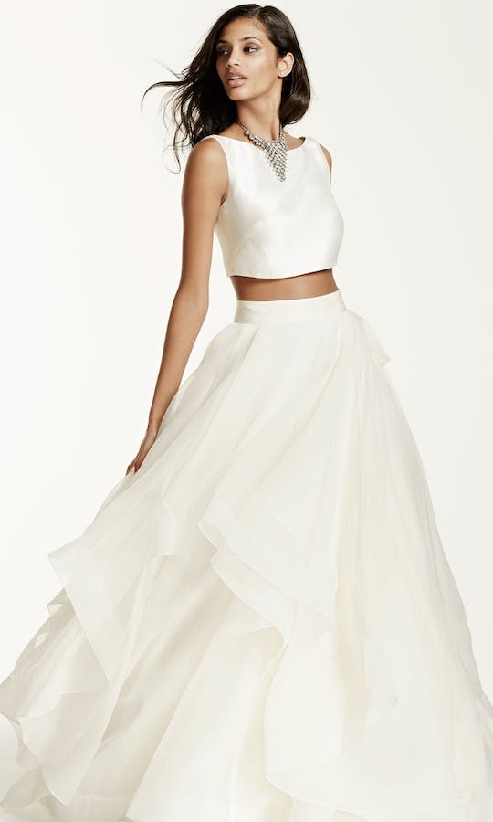 David's Bridal 2016 Galina Signature SWG687