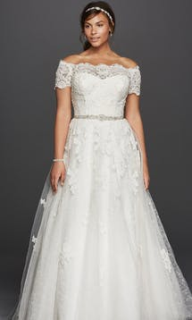 David's Bridal 2016 Jewel Woman 9WG3728 #2