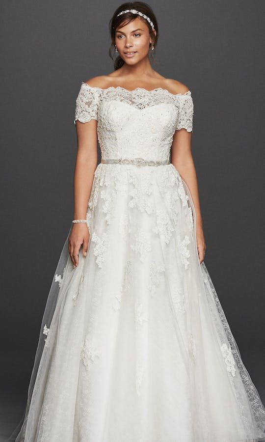 David's Bridal 2016 Jewel Woman 9WG3728