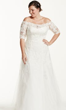 David's Bridal 2016 Jewel Woman 9WG3734 #4