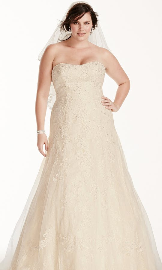 David's Bridal 2016 Jewel Woman 9WG3755
