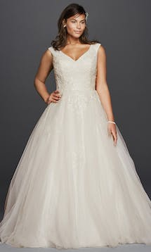 David's Bridal 2016 Jewel Woman 9WG3797 #10