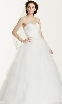 David's Bridal 2016 Jewel WG3722 #1