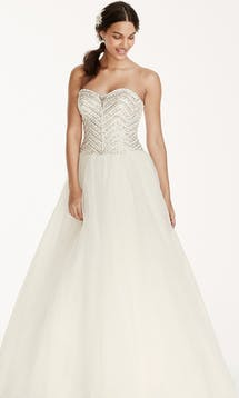 David's Bridal 2016 Jewel WG3754 #7