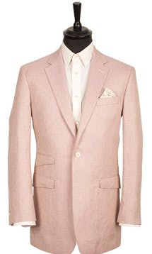 King & Allen Bespoke Suits Summer Blush Bespoke Suit #17