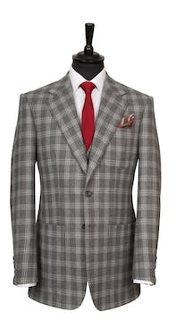 King & Allen Bespoke Suits Glencheck Suit #7