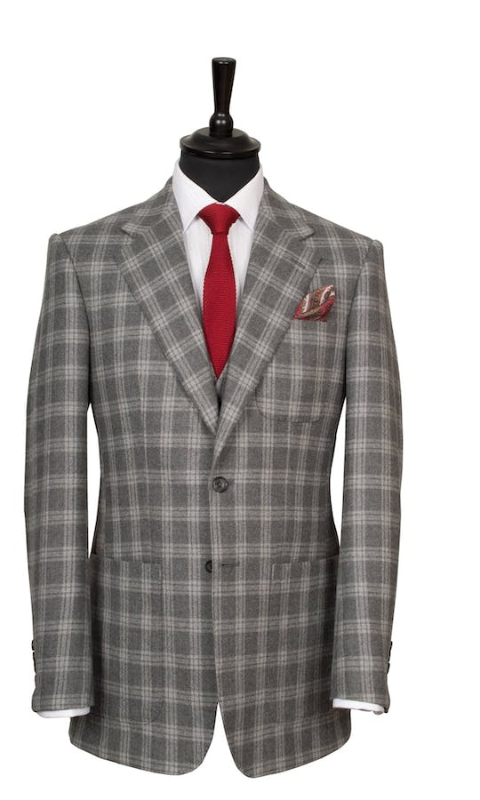 King & Allen Bespoke Suits Glencheck Suit