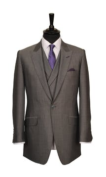 King & Allen Bespoke Suits Mohair Suit #4