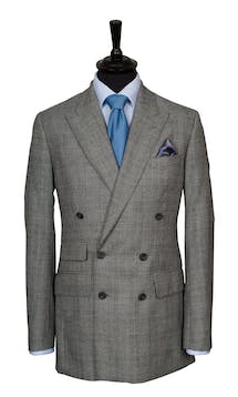 King & Allen Bespoke Suits Check Suit #5