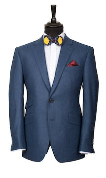 King & Allen Bespoke Suits The Dapper Flannel Suit #14
