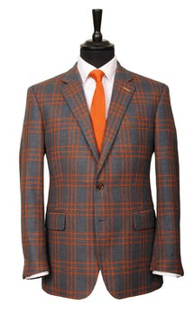 King & Allen Bespoke Suits The Standout Check #13