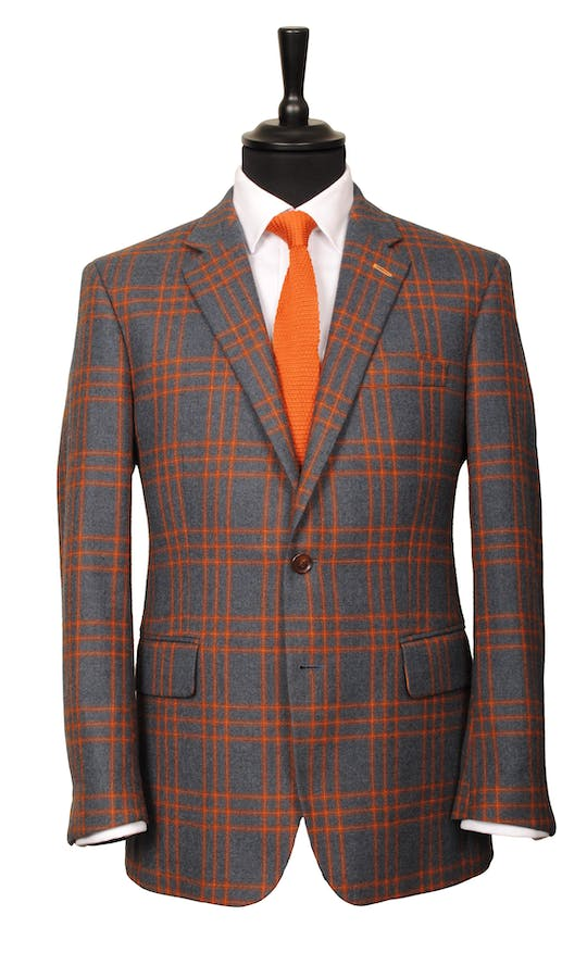 King & Allen Bespoke Suits The Standout Check