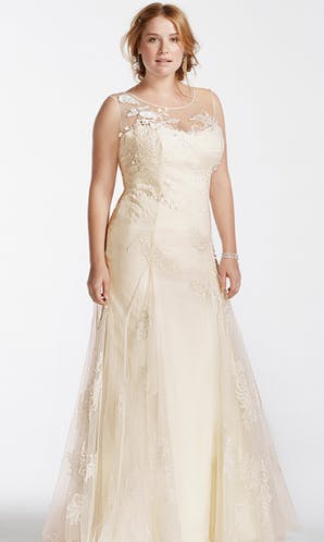 David's Bridal 2016 Melissa Sweet Woman 8MS251114