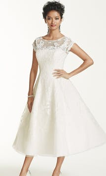 David's Bridal Spring 2016 Oleg Cassini CMK513 #1