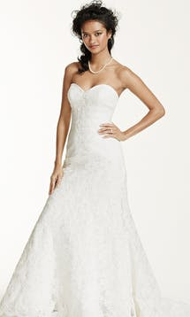 David's Bridal Spring 2016 Oleg Cassini CRL277 #2