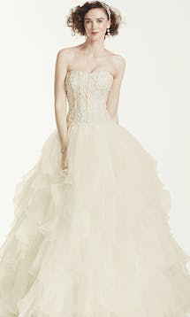 David's Bridal Spring 2016 Oleg Cassini CWG568 #5